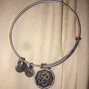 "Alex + Ani ""B"" Charm Bracelet"